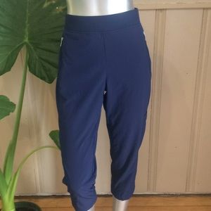 Chico's Zenergy Cropped Track Lounge Pants